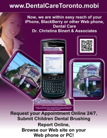 Dr. Christina Binert & Associates .mobi flyer